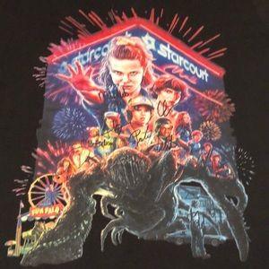 Stranger Things Season 2 Printed Autograft T-Shirt